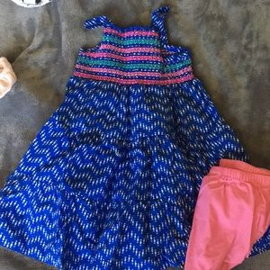 Other - Baby girl dress with matching bloomers ❤️